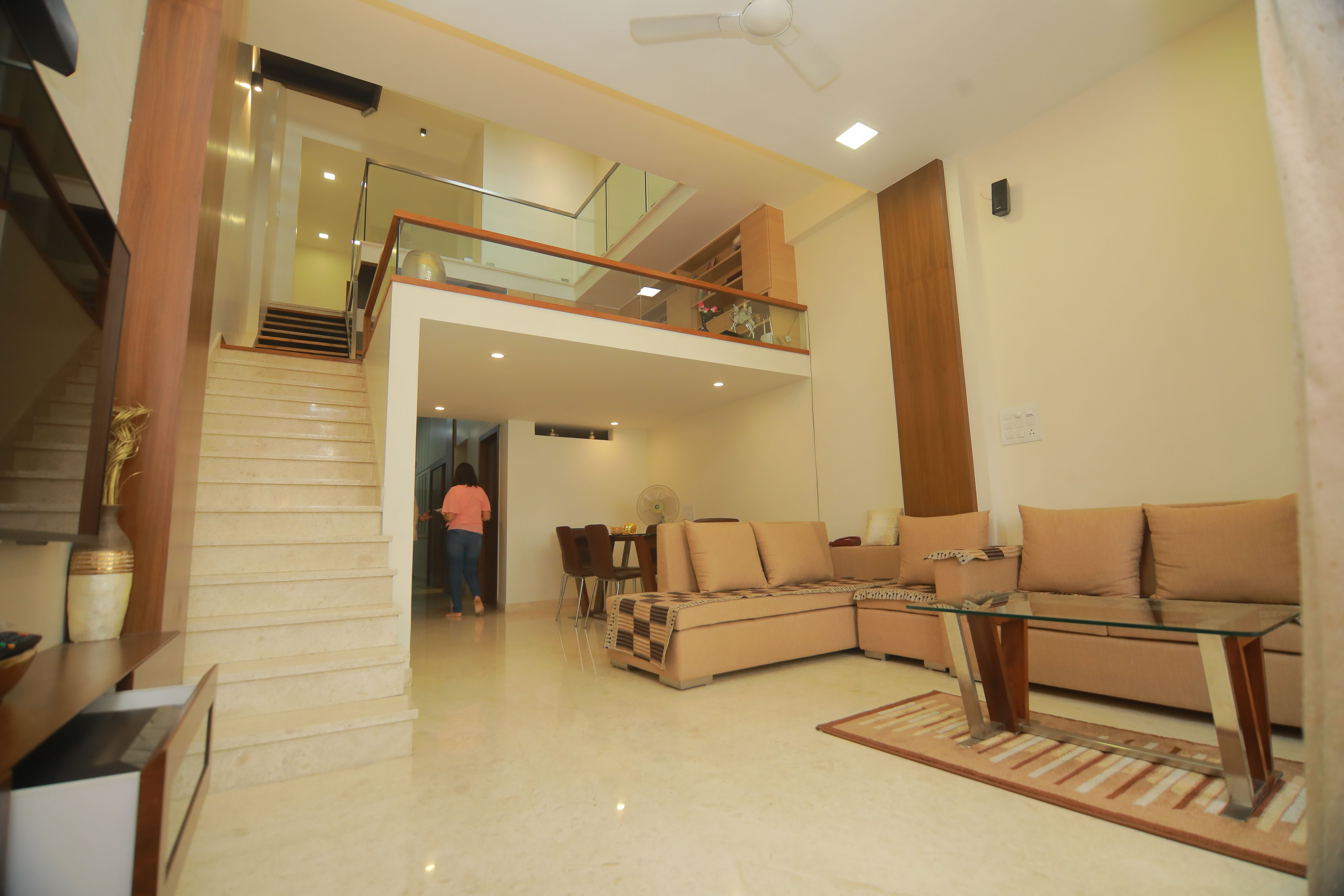 Residence Floating Space Living Space Natural Day Light Living Spaces Residences Architect