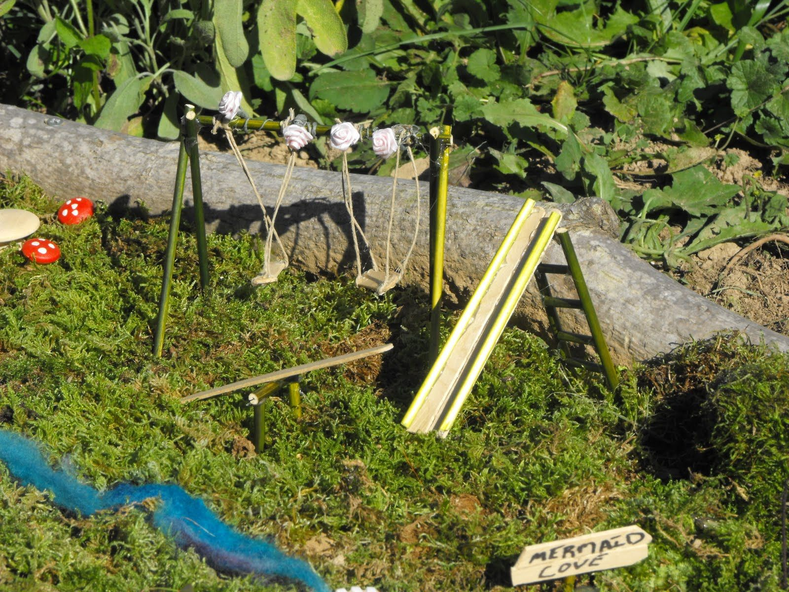 My Serenity: Our Fairy Garden. Playground DIY
