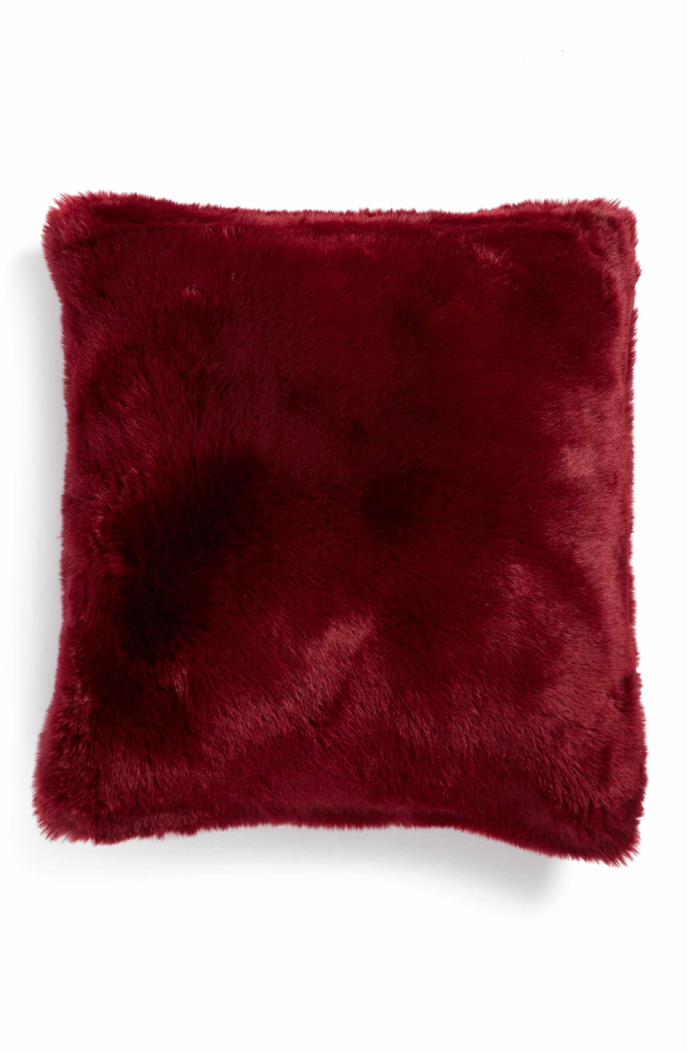 Cuddle Up Faux Fur Pillow | Cuddling, Fur pillow and Fur