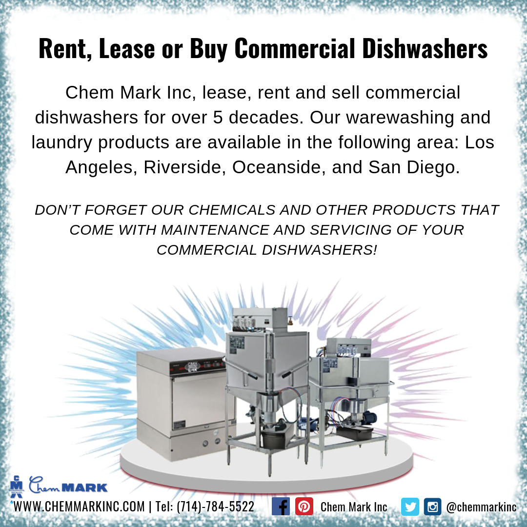 We Can Offer With Both Machine And Manual Warewashing Solutions As We Lease Or Rent Service And Monitor Cm Commercial Dishwasher Laundry Products Dishwasher