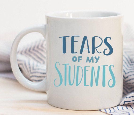 900f3cb780c Tears Of My Students Funny Teacher Quoted Ceramic Plastic Travel Coffee Mug  Drink Cup