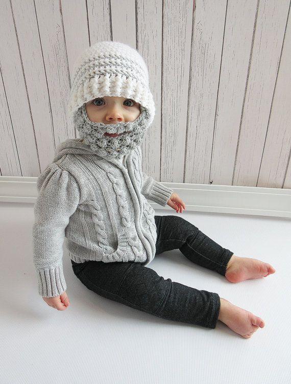 Check out this item in my Etsy shop https://www.etsy.com/listing/262518321/custom-beard-crochet-hat-bobble-beard