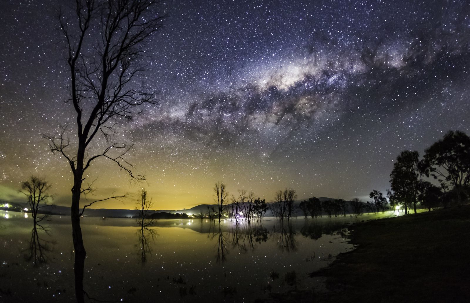 """""""The Milky Way over Bonnie Doon"""" by Neil Creek"""
