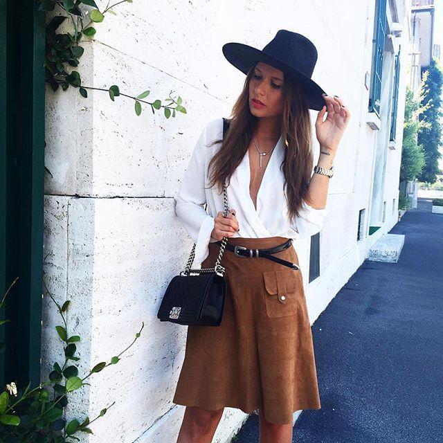 #VeronicaFerraro Veronica Ferraro: Good morning! New post on my blog wearing @guess watch ➰