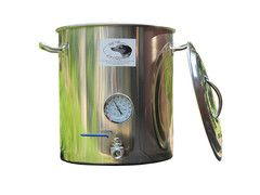 10 Gallon Brew Kettle Stainless Brew Pot With 1 Coupler Spike Brewing Brewing Home Brewing Steel House