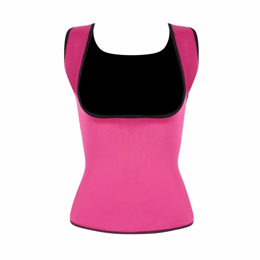 ef84714f28 HEXIN Plus Size Neoprene Sweat Sauna Hot Body Shapers Vest Waist Trainer  Slimming Vest Shapewear Weight Loss Waist Shaper Corset