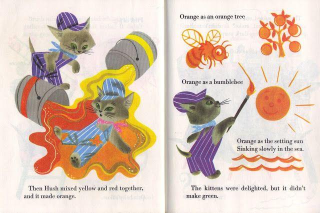 Friday Giveaway The Color Kittens Kitten Art Little Golden Books Childrens Books Illustrations