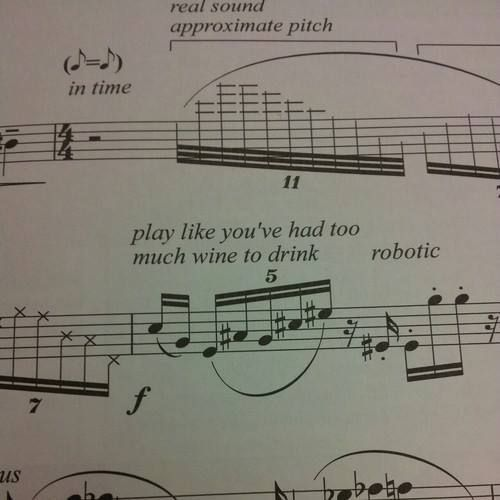 Funny Sheet Music Annotations — Musicnotes Now
