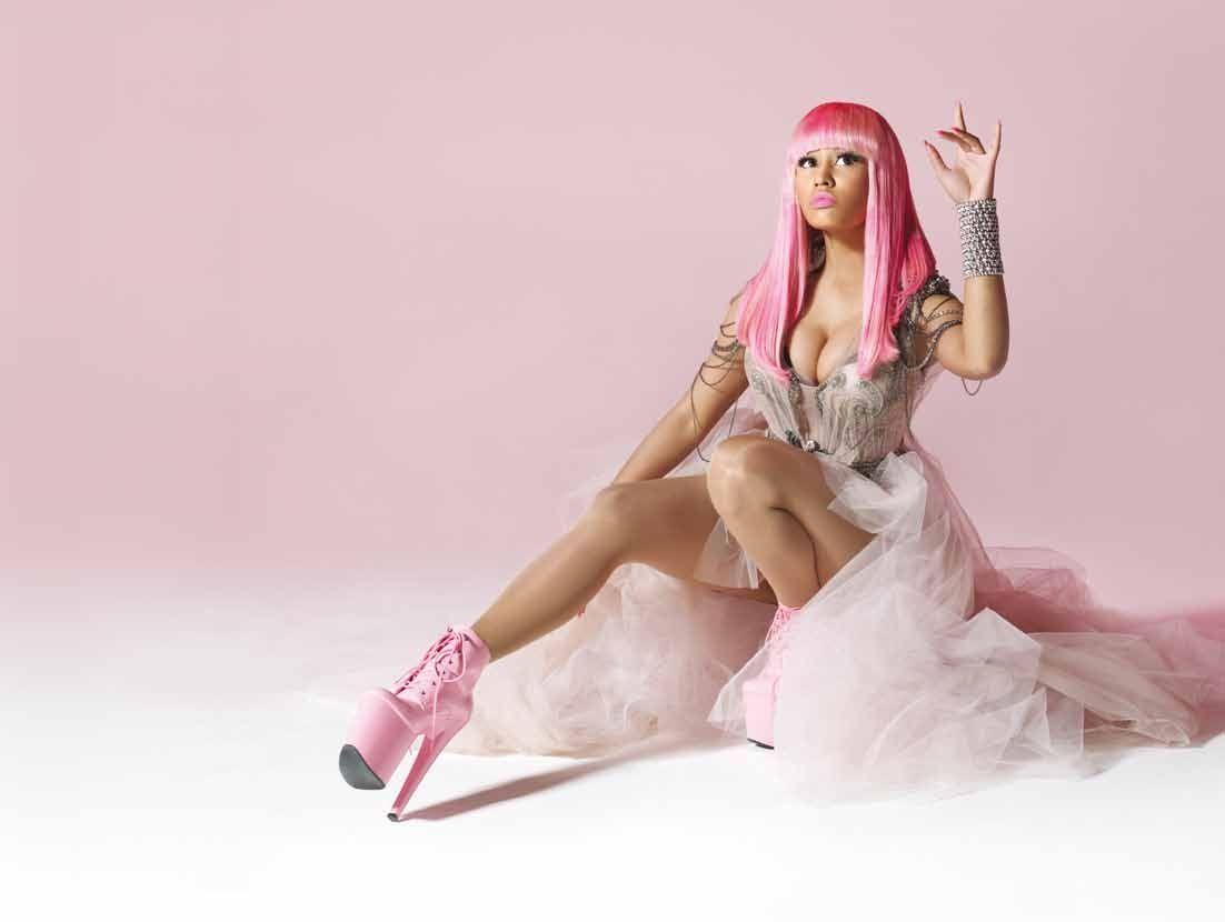 Nicki minaj pink friday back cover