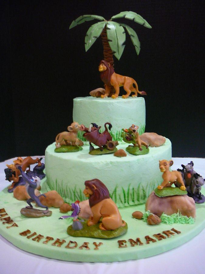 Lion King Cake Childrens Birthday Cakes awwww