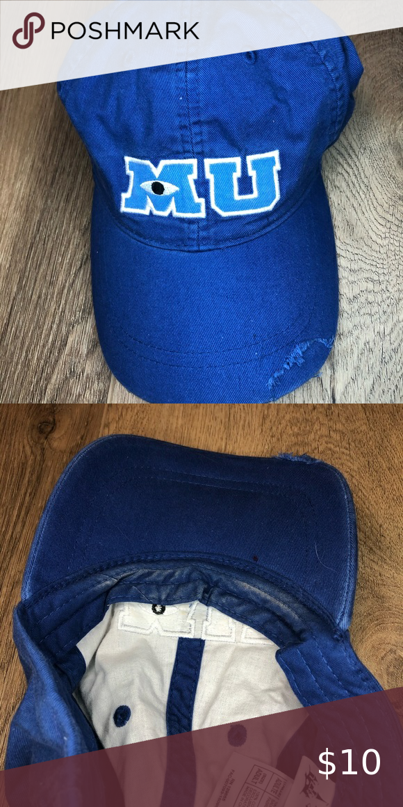Disney Monsters University Hat In 2020 Monsters University Hat Disney Monsters Disney Accessories