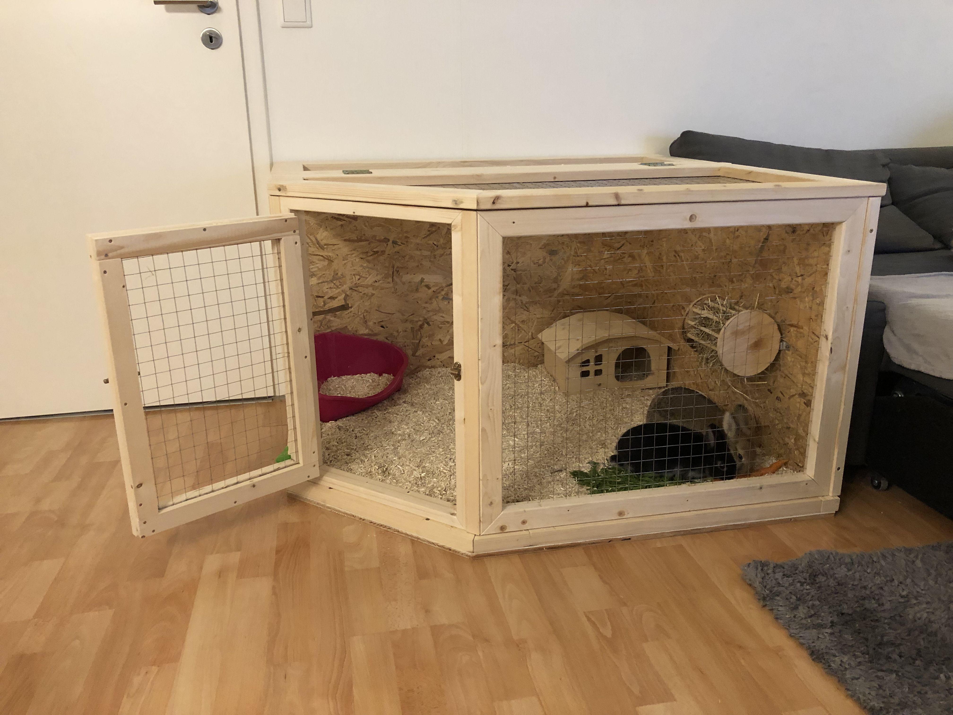 Gehege Krumel Hasenkafig Selber Bauen Kaninchenstall Selber Bauen Kaninchengehege Bauen