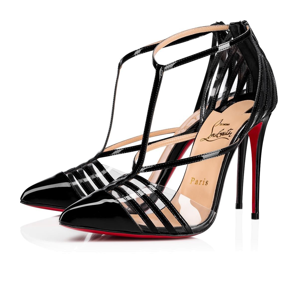 cd82df4728a Deck 100 Black Patent Leather - Women Shoes - Christian Louboutin in ...