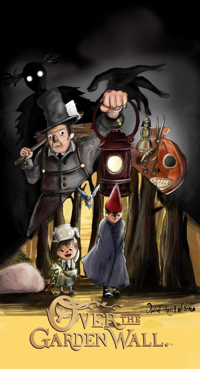 Over the garden wall art style  Pin by Paolino Paperino on Over the Garden Wall  Pinterest