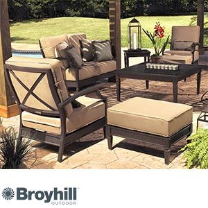 Radiance 7 Piece Deep Seating Collection By Broyhill Outdoor