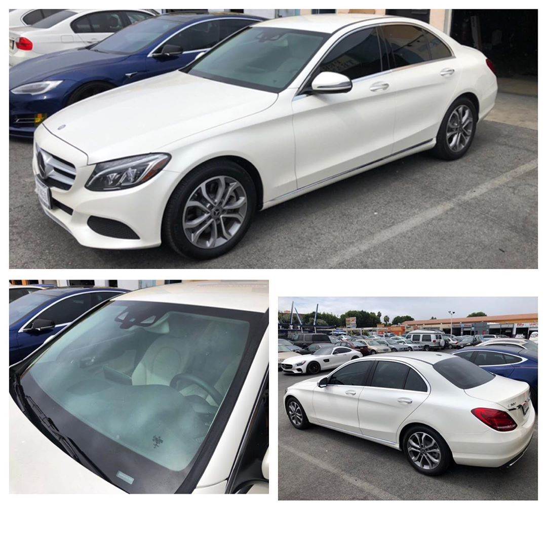 2017 Benz C300 Suntek Cir Ceramic 20 Rear 30 Front 70