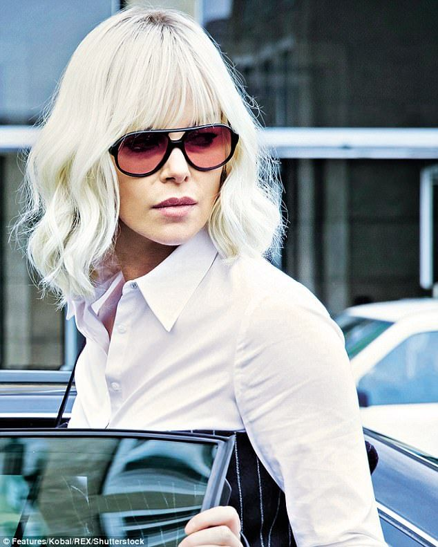 Charlize Theron Ny Blondes: Atomic Blonde, Hair