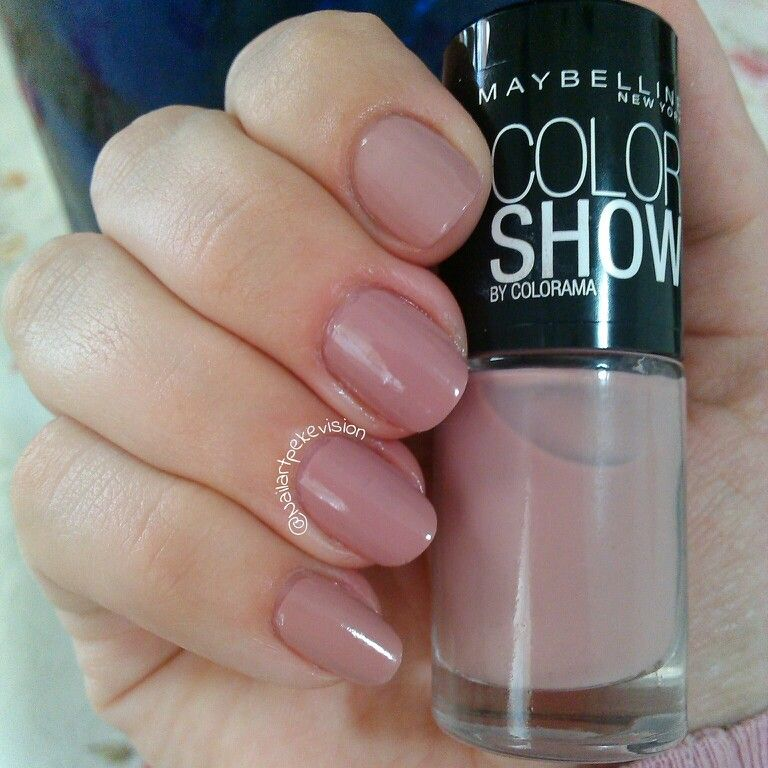 Swatch Nail Polish / Esmalte N° 301 Love this Sweater @Maybelline ...