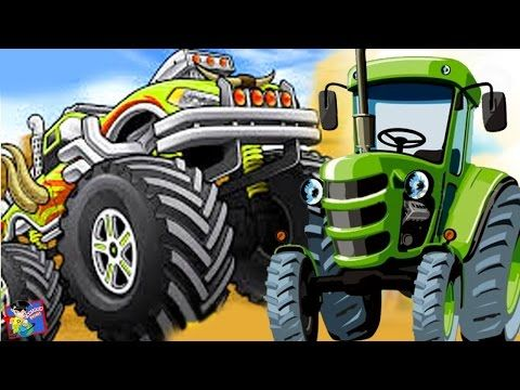 Monster Truck Learn Numbers Animated Cartoon Videos For Kids For More  Videos Visit http:/