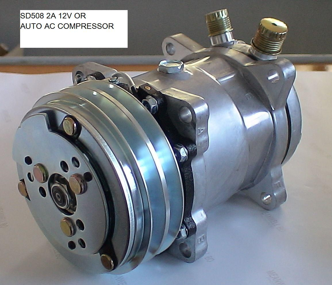 This Is How An Auto Air Conditioner Compressor Looks Like