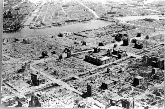 도쿄 대공습 70주기: 불타버린 도쿄의 지금(사진)