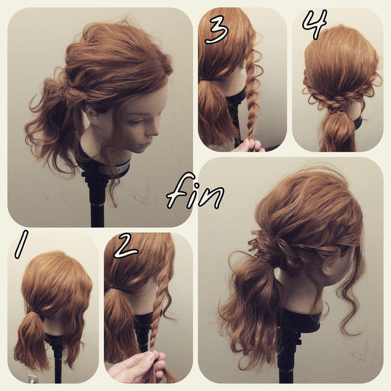 お呼ばれに 結婚式で華やか見せできるヘアアレンジ レングス別 Hair ポニーテール やり方 結婚式 ヘアアレンジ ミディアム 簡単 ヘアアレンジ