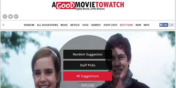 Curated Movie Recommendations at A Good Movie to Watch