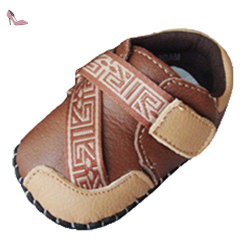 28c7d572baaeb Ohmais Enfants Chaussure bebe garcon bebe fille premier pas Chaussure  premier pas bébé sandale en cuir