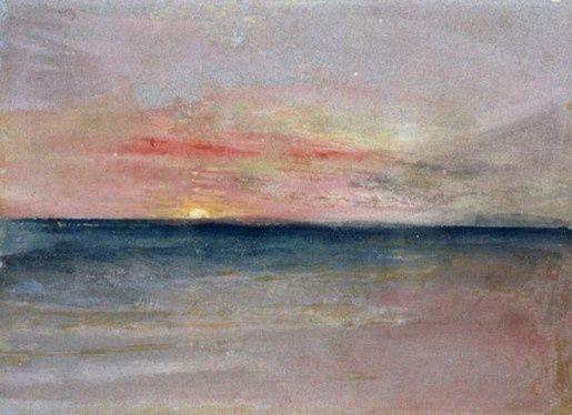 William Turner Sunset William Turner Mallord