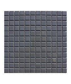 Pool Gunmetal Grey 23x23mm Mosaic Tile