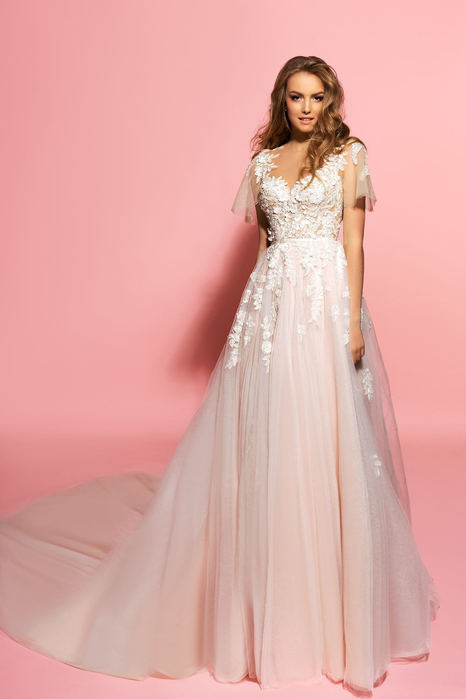 Eva Lendel Pink/Blush Weeding Dress - Samanta | Dream Wedding ...