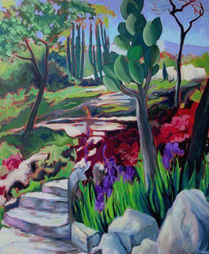 mexican garden mural | Garden murals | Pinterest | Garden mural ...