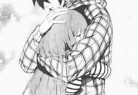 Hasil Gambar Untuk Anime Romantis Pelukan Cosplay Anime Gambar