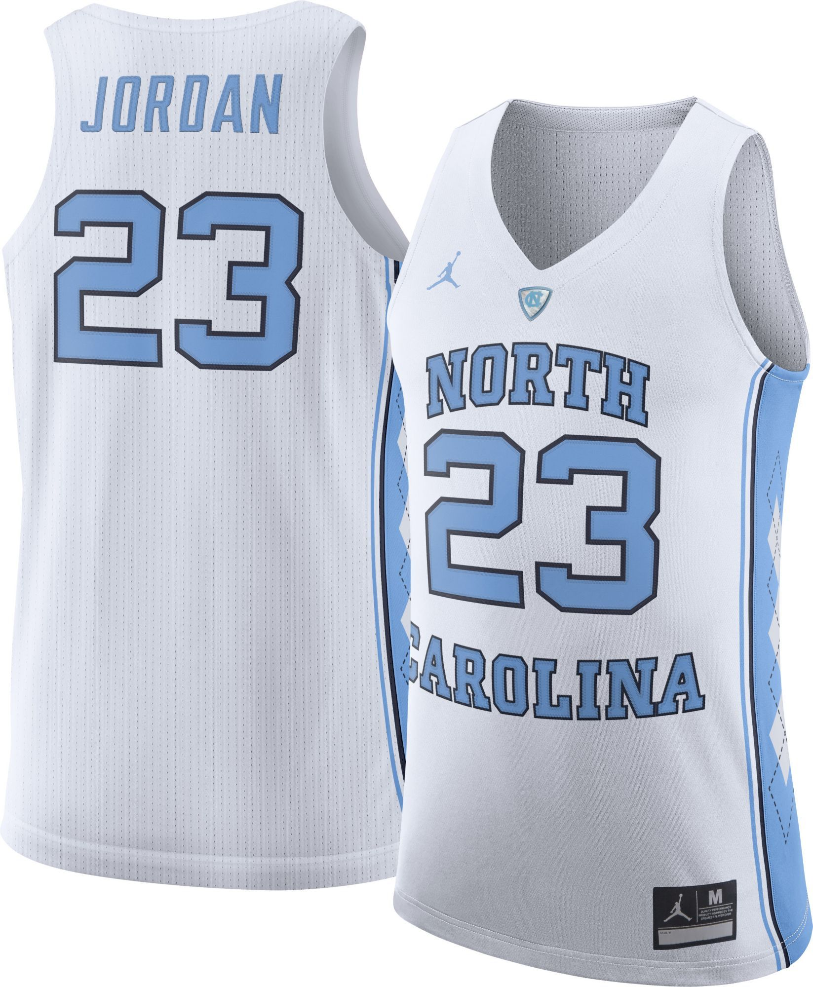 c8ea51263c9aac Jordan Men s Michael Jordan North Carolina Tar Heels  23 White Authentic  College Alumni Jersey