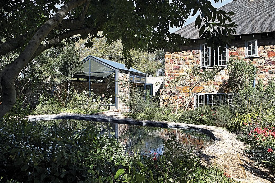 Take A Walk Though The Parktown Home Of Artist Clive Van Den Berg And Pianist Rocco De Villiers With Its Spacious Interio Gorgeous Gardens Home Outdoor Living