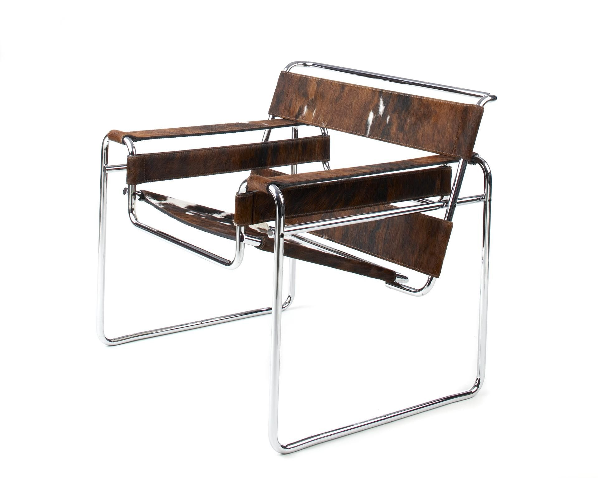 Wassily Lounge Chair Wassily chair, Chair, Marcel breuer