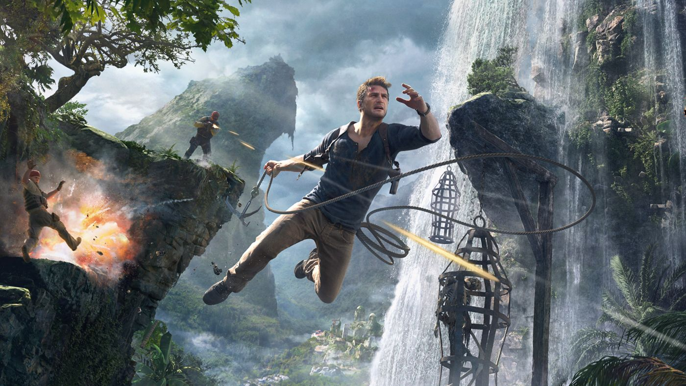 Key Art And Logotype For Uncharted 4 A Thiefs End