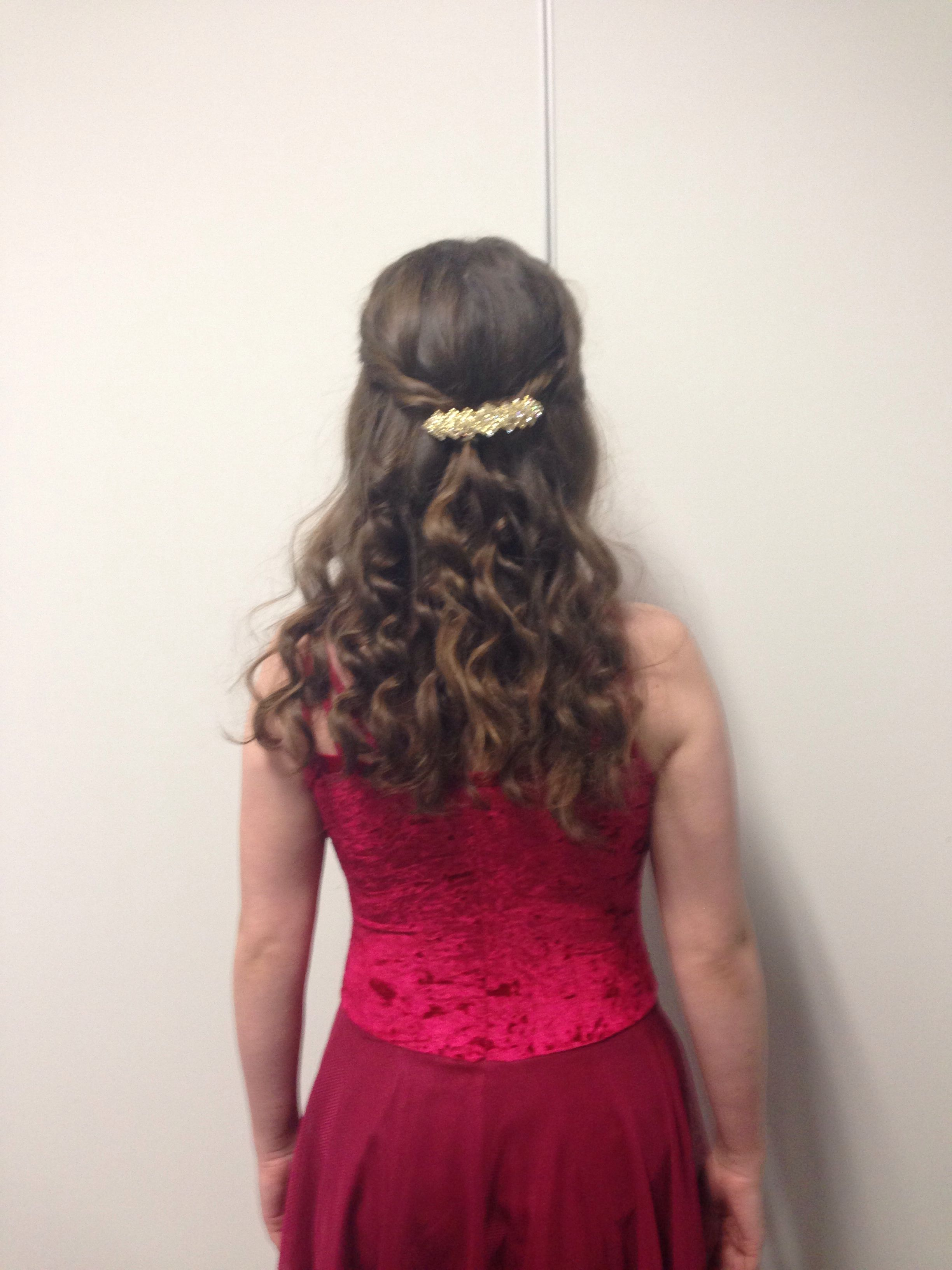 curly hair ready for lyrical solo | dance in 2019 | dance
