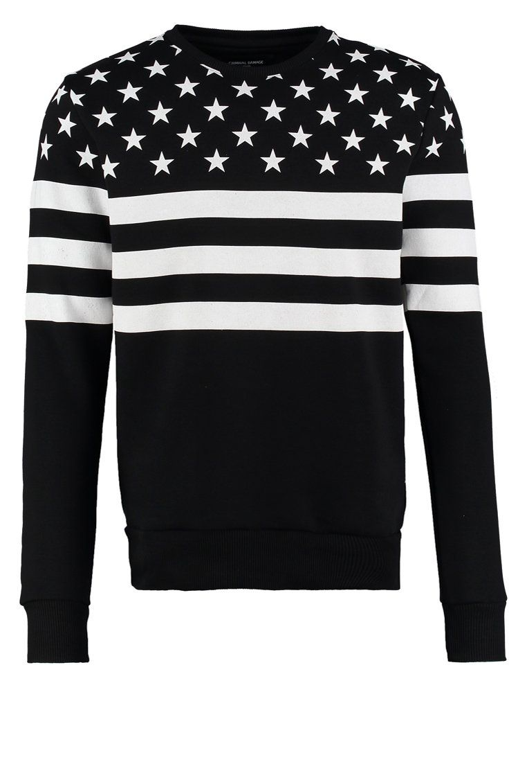 Pullover Männer Zalando Criminal Damage Flagship Sweater Black Zalando Nl