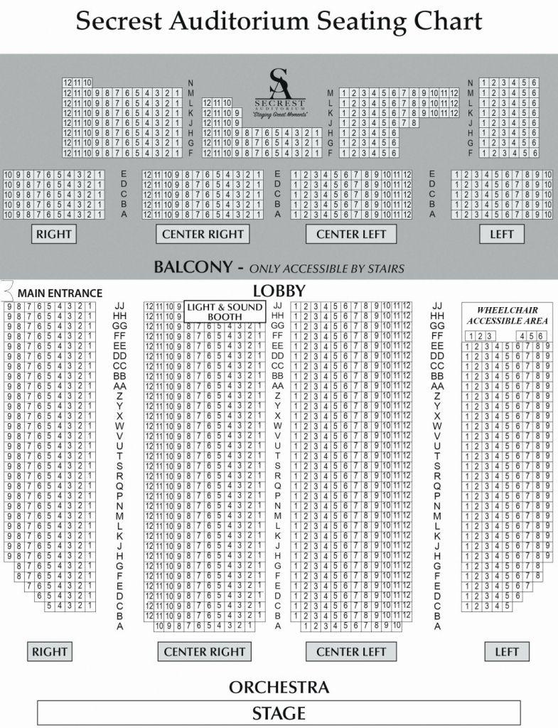 Shn Orpheum Theatre Seating Chart Di 2020