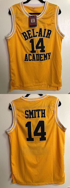 Basketball-Other 205  Yellow Nwt Bel-Air Academy Will Smith Jersey (Size 42760e1818a0