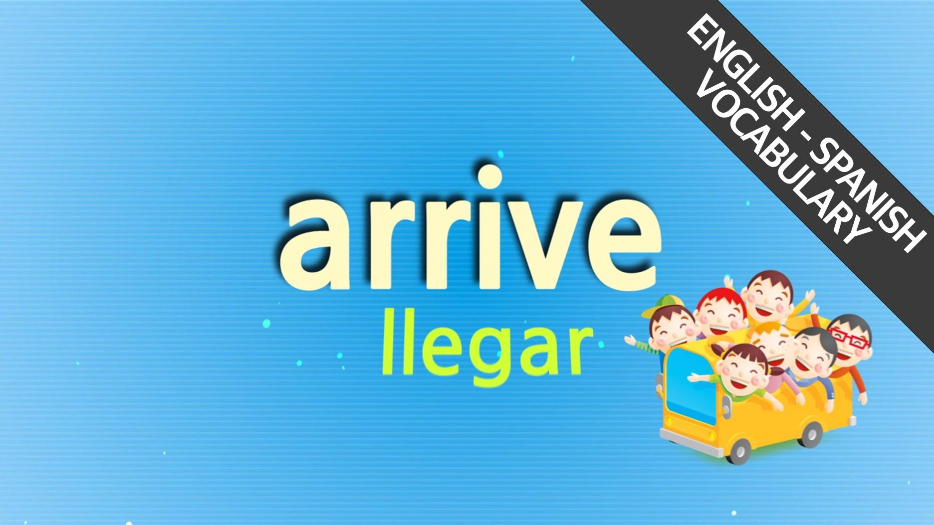 Learn Spanish vocabulary with songs (21/40), ¡Aprenda palabras en Ingles...