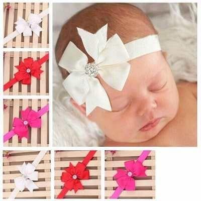 diadema para bebe princesa nia moo diamantes adorno