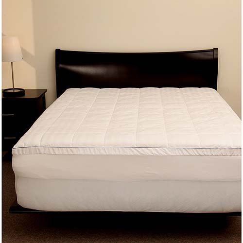 2 Memory Foam Mattress Topper With Pillow Top Zip Cover King By Ideal Foam The Micro