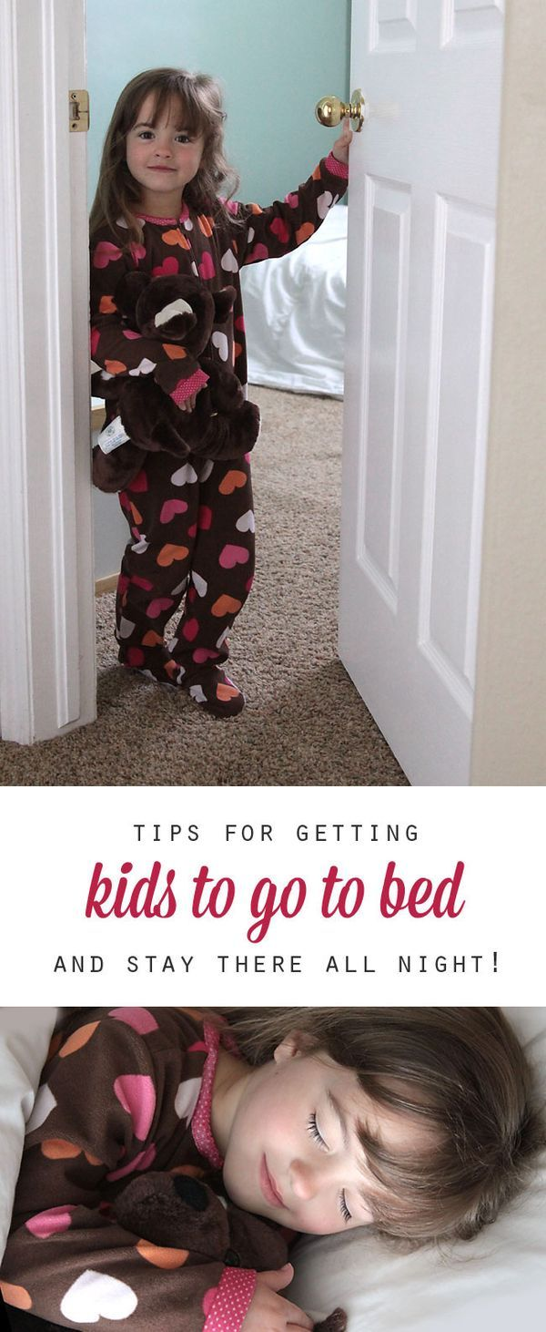 tips for getting kids to go to bed at night (and stay ...