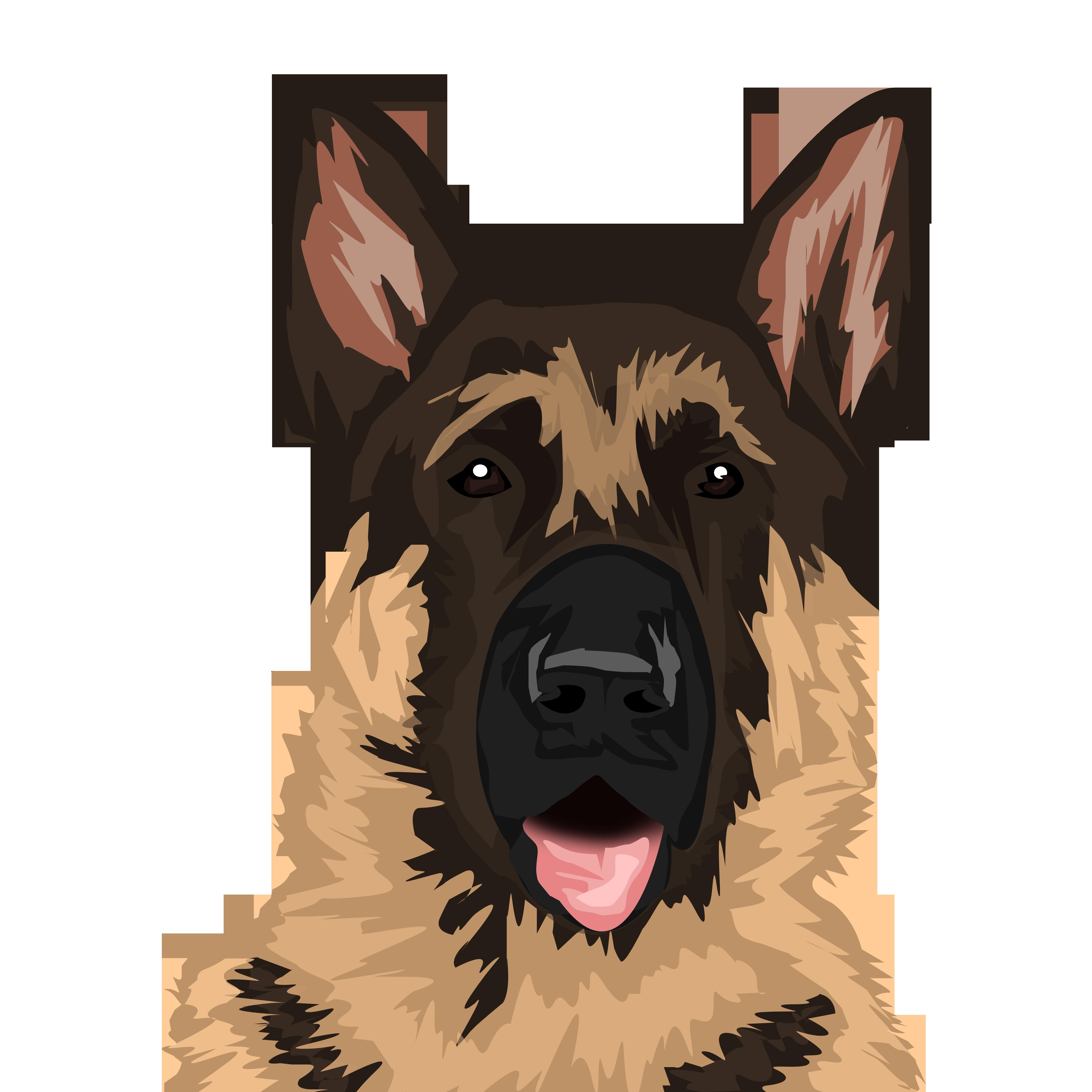 Designer Squad1 I Will Draw High Quality Vector Art Portrait Pet Or Any Animals For 5 On Fiverr Com Dog Drawing Animal Portraits Art German Shepherd Art