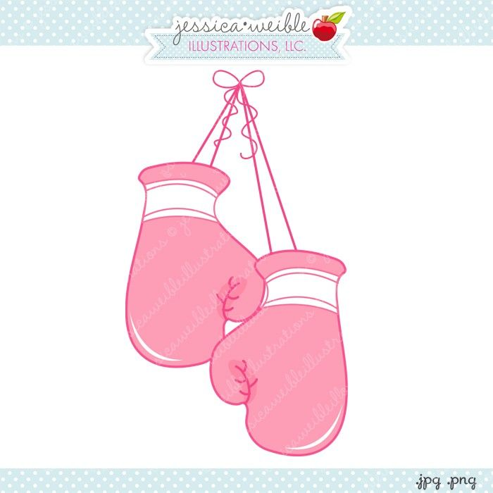 Boxing Gloves - JW Illustrations | JWI // Create with Clipart ...