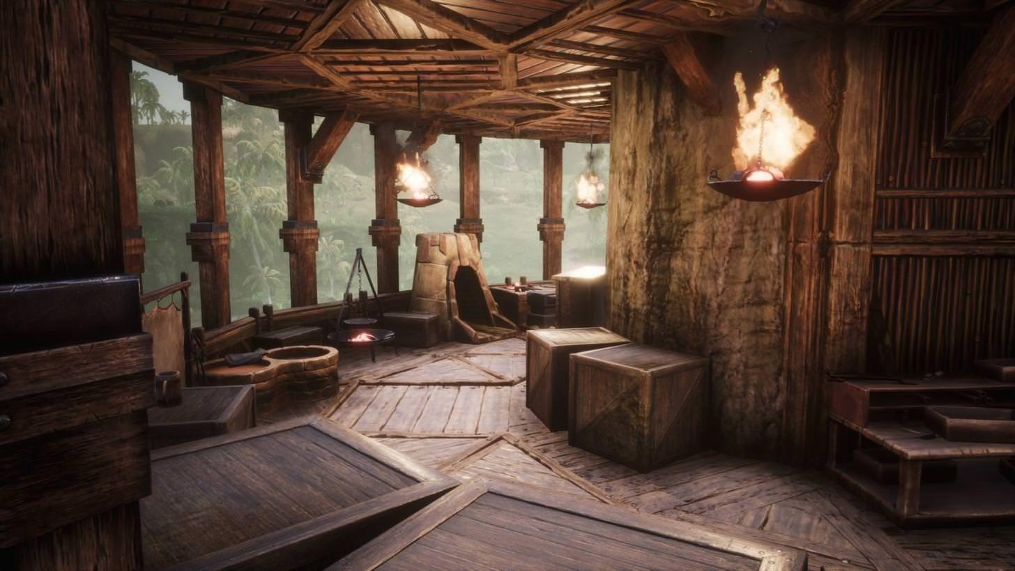 Conan Exiles Tree House Build Conan Exiles Tree House Tree House Interior
