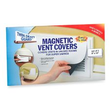 Twin Draft Guard Magnetic Vent Covers Set Of 3 Vent Covers Twin Draft Guard Household Hacks