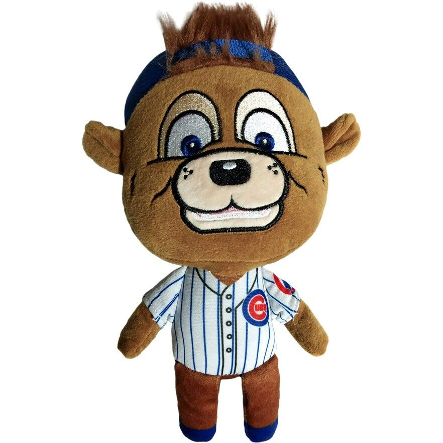 Chicago Cubs Baby Bro Mascot Plush Toy, Multicolor